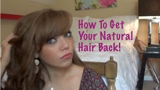 getlinkyoutube.com-How To Get Your Natural Hair Back