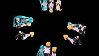 getlinkyoutube.com-【MMD】【Holographic】 Everybody