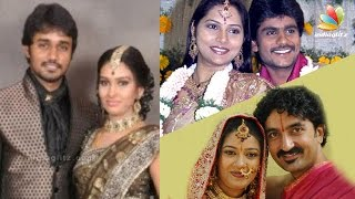 getlinkyoutube.com-TV Actors Who Married Their Co-Stars | Tamil Serial Actress Family Album | Vamsam, Deivamagal