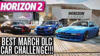getlinkyoutube.com-Forza Horizon 2 Online | BEST MARCH DLC CAR CHALLENGE!!!