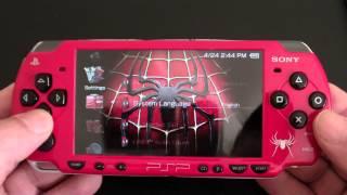 Custom Sony PSP 2000 Spider-Man Edition PlayStation Portable (MINT)