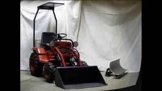 getlinkyoutube.com-electric tractor-building the tractor