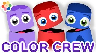 getlinkyoutube.com-Color Collection 9 | Red, Blue, Purple | Color Learning Videos for Kids | Color Crew | BabyFirst