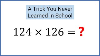 getlinkyoutube.com-Math Trick: Quickly Multiply Numbers Like 83x87, 32x38, and 124x126