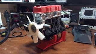 getlinkyoutube.com-3D printed Toyota 22RE engine