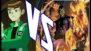 SECTION XX FANTASY FIGHT-(Ben 10 Vs Super Skrull)