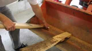 getlinkyoutube.com-DIY - How to make your own Bucket Forks for your tractor.