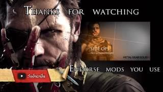 getlinkyoutube.com-Metal Gear Solid V Mods: DLC and All Item unlocker by Church