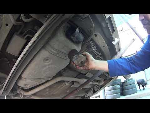 Chery IndiS замена топливного фильтра своими руками
