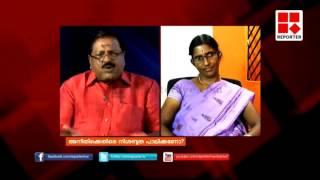 Rajmohan Unnithan criticises Sasikala teacher- Editor's Hour width=