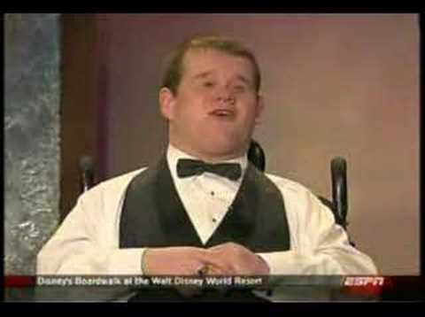 Patrick Henry Hughes @ ESPN Awards Ceremony part 2
