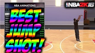 getlinkyoutube.com-The Best Jump Shot In Mycareer NBA 2K16!