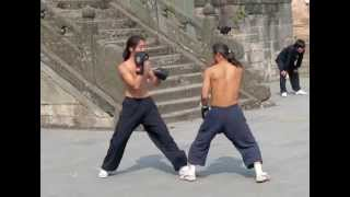 getlinkyoutube.com-Sanda Beginner training in China