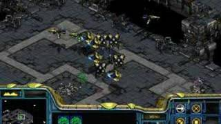 "getlinkyoutube.com-Starcraft Brood War - Protoss 05 ""Battle of Braxis"" in 3:33"