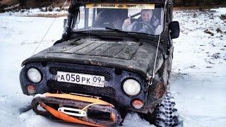 getlinkyoutube.com-Зимний подъем на Хурлакель. Ретро видео (12.01.2014)