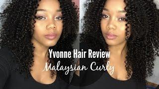 getlinkyoutube.com-The Best Curly Hair! Aliexpress Yvonne Hair ♥ Malaysian Curly