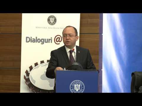 """Discursul ministrului Bogdan Aurescu la cea de-a IV-a sesiune a dezbaterilor """"Dialoguri@MAE"""""""