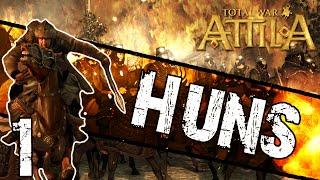 getlinkyoutube.com-Total War: Attila - Huns Campaign #1 ~ Scourge of God!