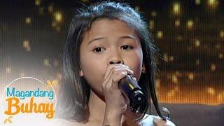 """getlinkyoutube.com-Magandang Buhay: Lyca sings """"Sa Isang Awit"""""""