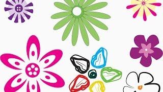 getlinkyoutube.com-Tutorial Corel Draw, Como hacer flores (basico) C.A.R.T.