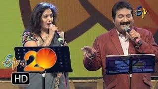 Mano,Sunitha Performance - Sarasalu Chalu Song in Chilakaluripet ETV @ 20 Celebrations