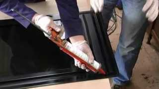 getlinkyoutube.com-How to fit Masai Panoramic Tinted Windows to a Land Rover Defender 90 / 110