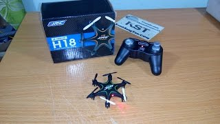 getlinkyoutube.com-[Unboxing] Quadcopter Mini Drone H18 2.4Ghz 4CH | CNDirect