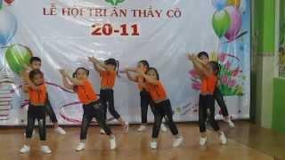 getlinkyoutube.com-Bài nhảy rửa tay vui nhộn 20/11/14 - Little May