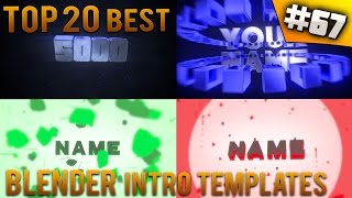 getlinkyoutube.com-TOP 20 BEST Blender intro templates #67 (Free download)