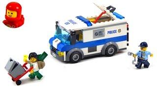 getlinkyoutube.com-Lego City 60142 Money Transporter Lego Speed Build