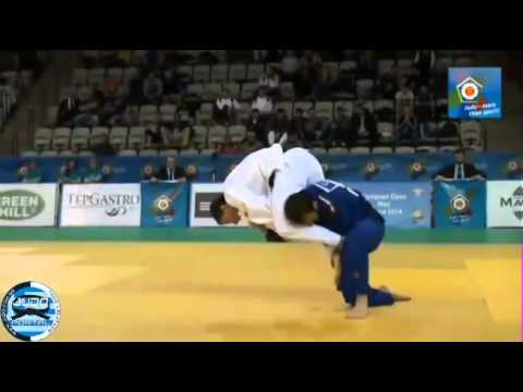 European Judo Open Men Prague 2014 Final -66kg SHERSHAN Dzmi