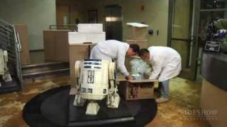 sideshow collectibles life-size r2-d2 assembly video