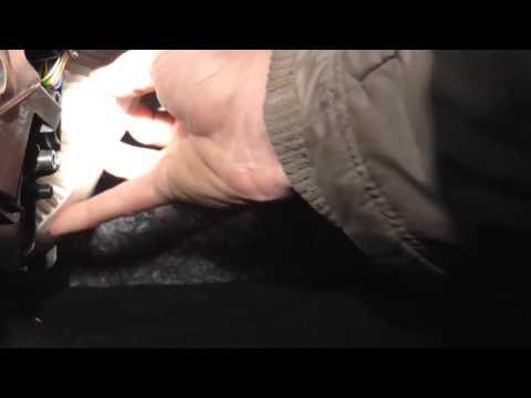 Видео смены воздушного фильтра салона XRay