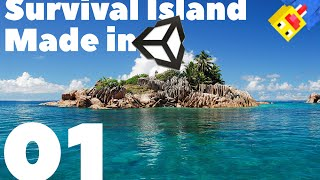 Make A Survival Game in Unity 5  EP: 1 Island Creation
