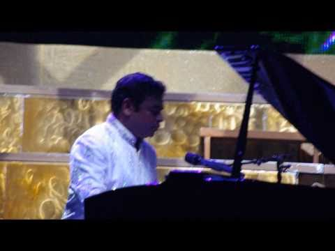 Mausam & Escape LIVE - A. R. Rahman & Asad Khan at Singapore Marina Bay Sands Jai Ho concert HD 720p