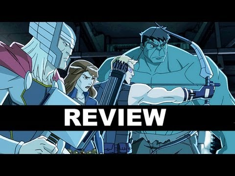 Avengers Assemble Cartoon 2013 - Episode 1 Review of the new Disney XD show!