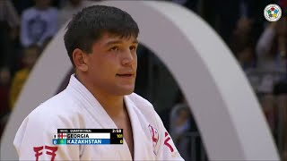 getlinkyoutube.com-Georgia vs Kazakhstan - Quarter-Final - Judo World Championship Teams Chelyabinsk 2014