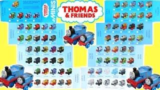 getlinkyoutube.com-THOMAS AND FRIENDS MINIS CHECKLIST 70+ TANK ENGINES LOCOMOTIVE DINO ROBO NEON METALLIC
