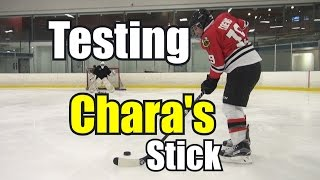 getlinkyoutube.com-Beer Leaguers try using Chara's Stick