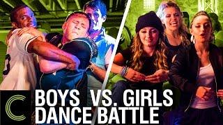 getlinkyoutube.com-DANCE BATTLE: Boys Vs Girls - ft. Brooklyn and Bailey