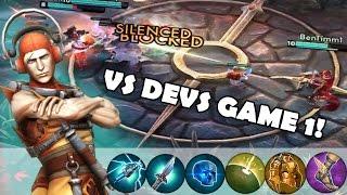 getlinkyoutube.com-Some Vox Tips + Against The Devs Game 1 | Vainglory [Ranked] Lane Gameplay