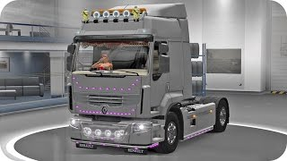 getlinkyoutube.com-Renault Premium Tuning ETS2 (Euro Truck Simulator 2)