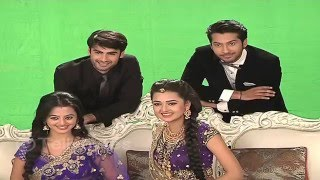 getlinkyoutube.com-Swara, Sanskar, Laksh and Ragini on the sets of Swaragini PHOTOSHOOT
