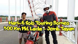getlinkyoutube.com-500 Km Pkl. Lada - Jemb.Tayan, hari-6 Solo Touring Borneo