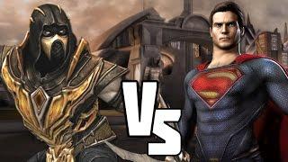 Injustice! Versus Scorpion Vs Superman