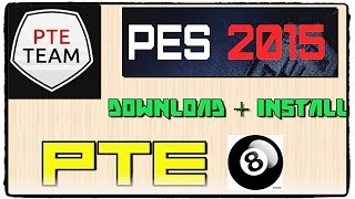 getlinkyoutube.com-[PES 2015] Patch PTE 8.0 : Download and Install on PC