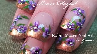 getlinkyoutube.com-Paint me Robin Moses!  Tartofraises and colorized_anna inspired Nail Art Design Tutorial