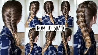 getlinkyoutube.com-How to Braid Your Own Hair For Beginners | How to Braid | Braidsandstyles12