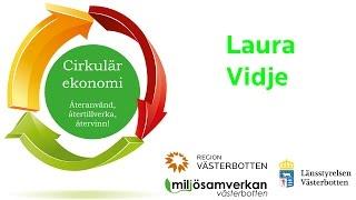 Miljösamverkan - Inspirerande halvdag om cirkulär ekonomi - Laura Vidje