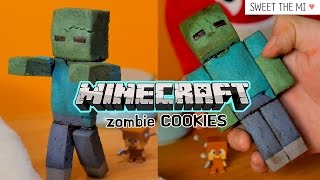 getlinkyoutube.com-Minecraft Zombie 3D COOKIES  마인크래프트 좀비 3D쿠키 [FOOD VIDEO] [스윗더미 . Sweet The MI]